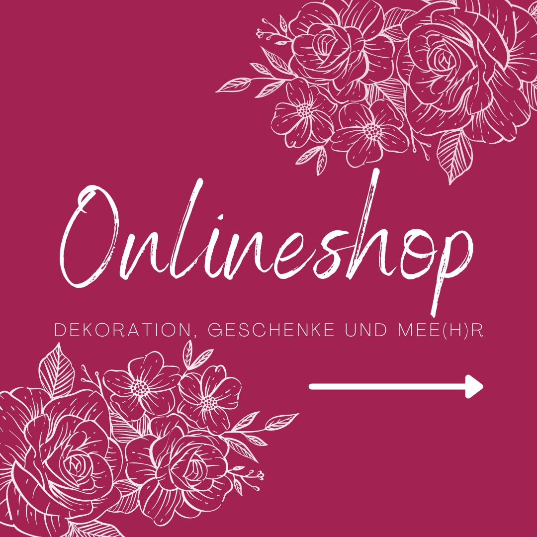 Onlineshop Rosen und Dornen für Dekorationen, Geschenke und Mee(h)r
